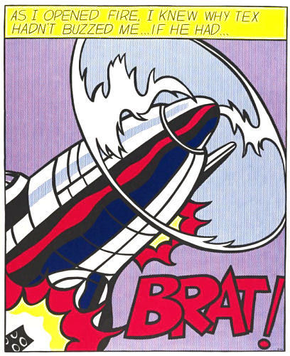"Lichtenstein, Roy ""As I opened fire"""
