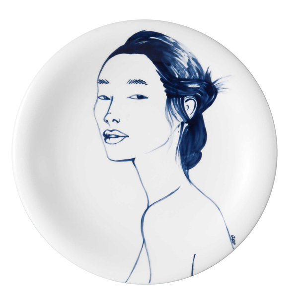 "MEISSEN Wandteller Faces ""Fiona"""