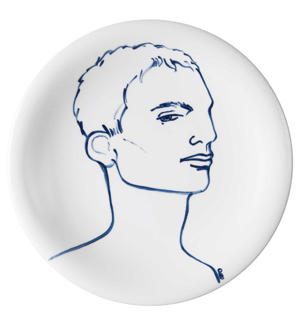 "MEISSEN Wandteller Faces ""Tim"""