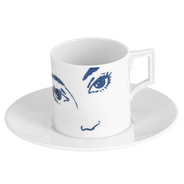 "MEISSEN Espresso Collection, Form ""Berlin"", ""These Eyes"""